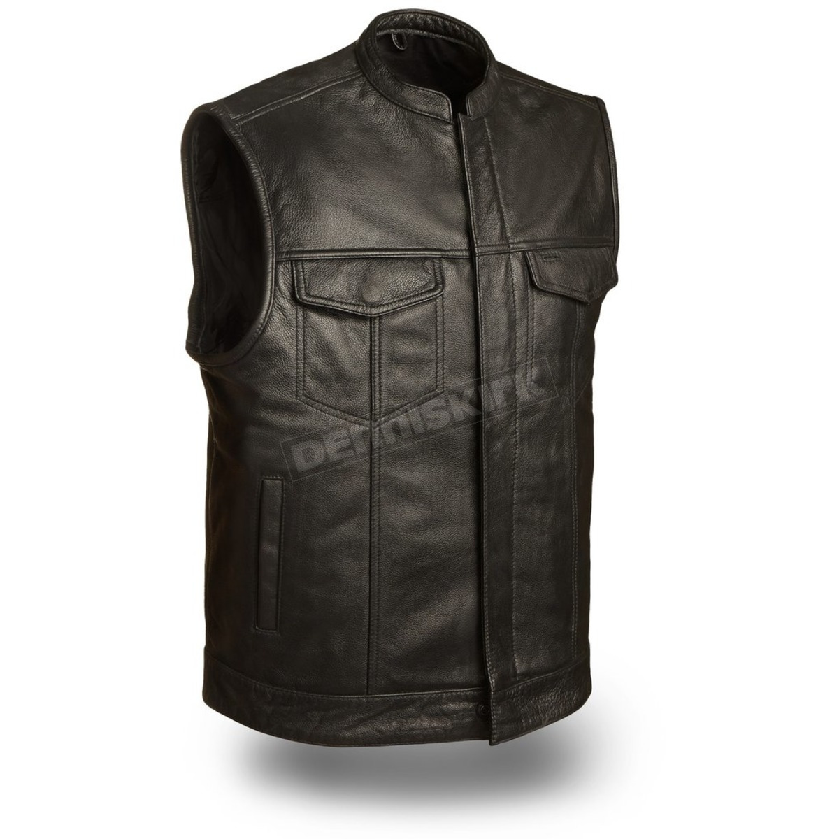 26a5a802e Black Blaster Leather Vest - FMM-690-BSF-M