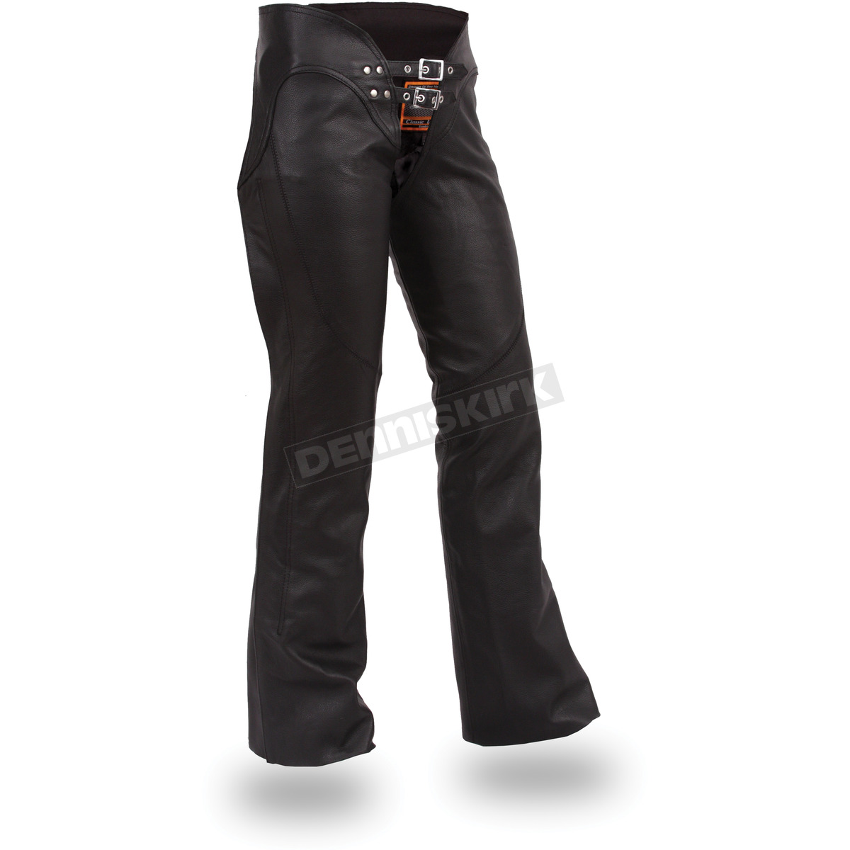first manufacturing co. women's black sissy chaps - fil-745-csl-s
