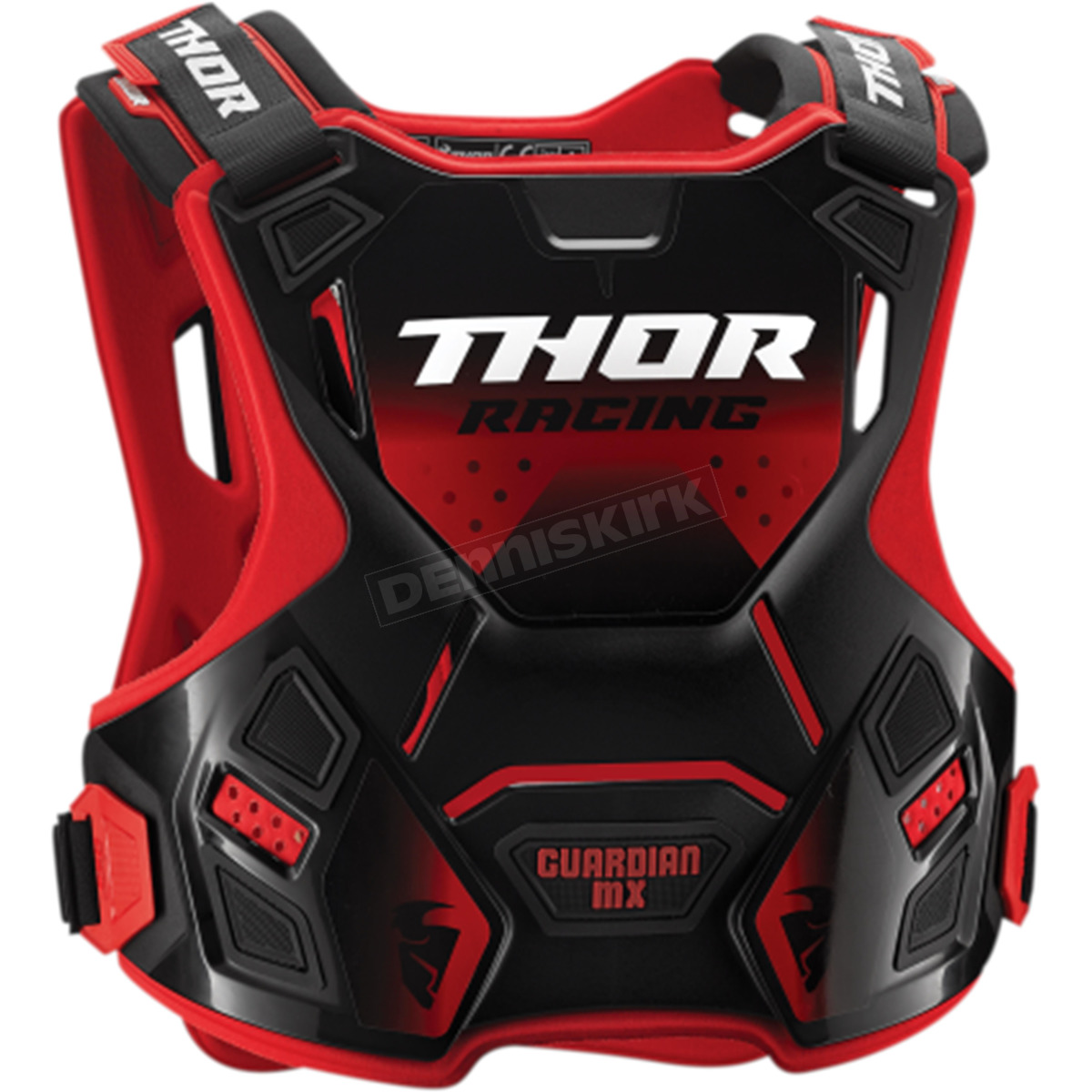 Youth sector knee guard black one size Thor 2704-0083