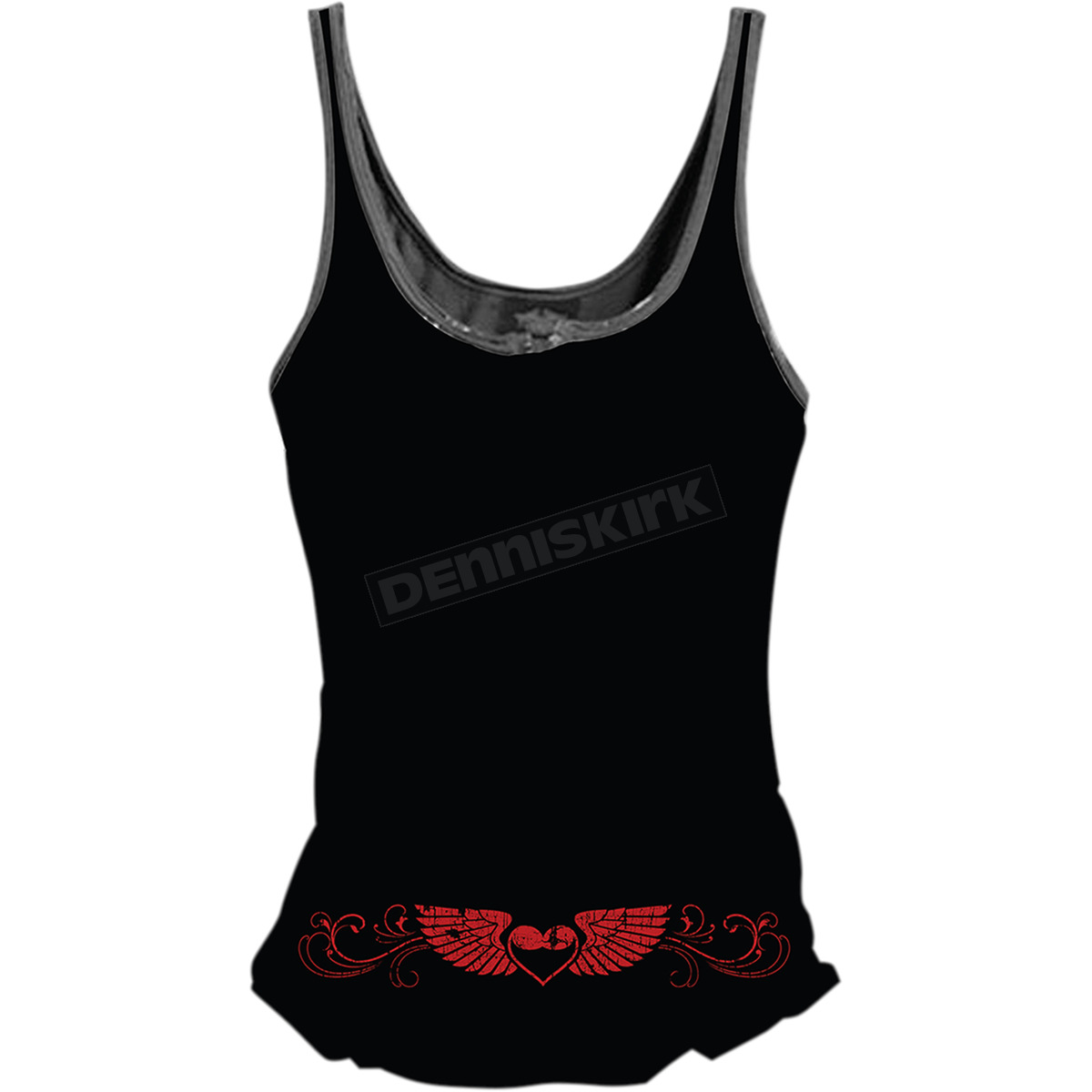fccf8b80f1b Lethal Threat Womens Born Free Eagle Lace-Up Tank Top - LA20468S ...