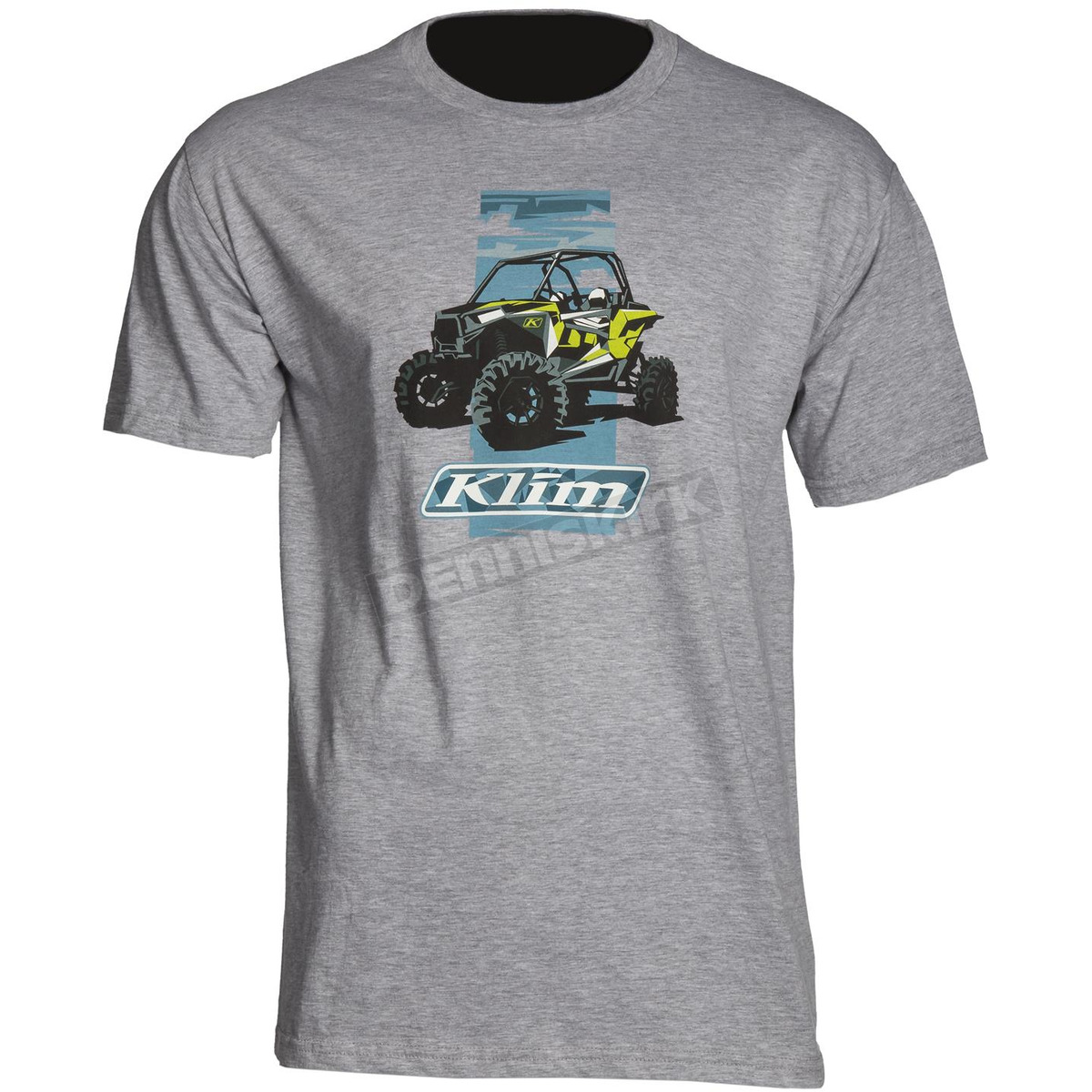 852a5b9e5 Klim Light Gray RZR Graphic T-Shirt - 3954-000-130-630 Dirt Bike ...