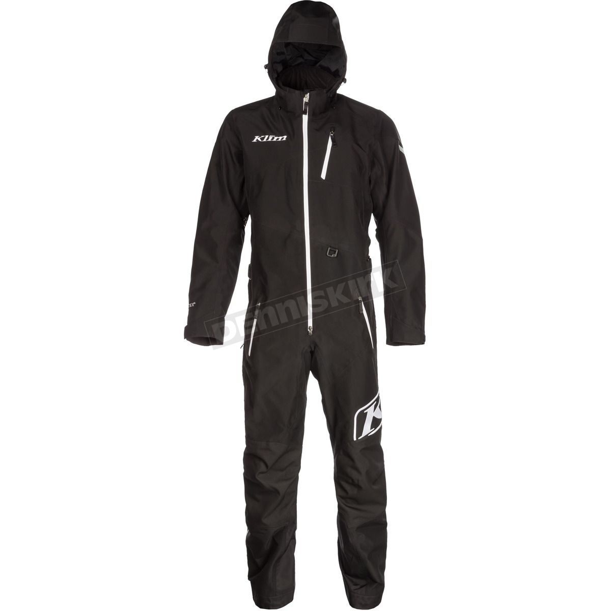 075939db Klim Black Ripsa One-Piece Suit | Dennis Kirk