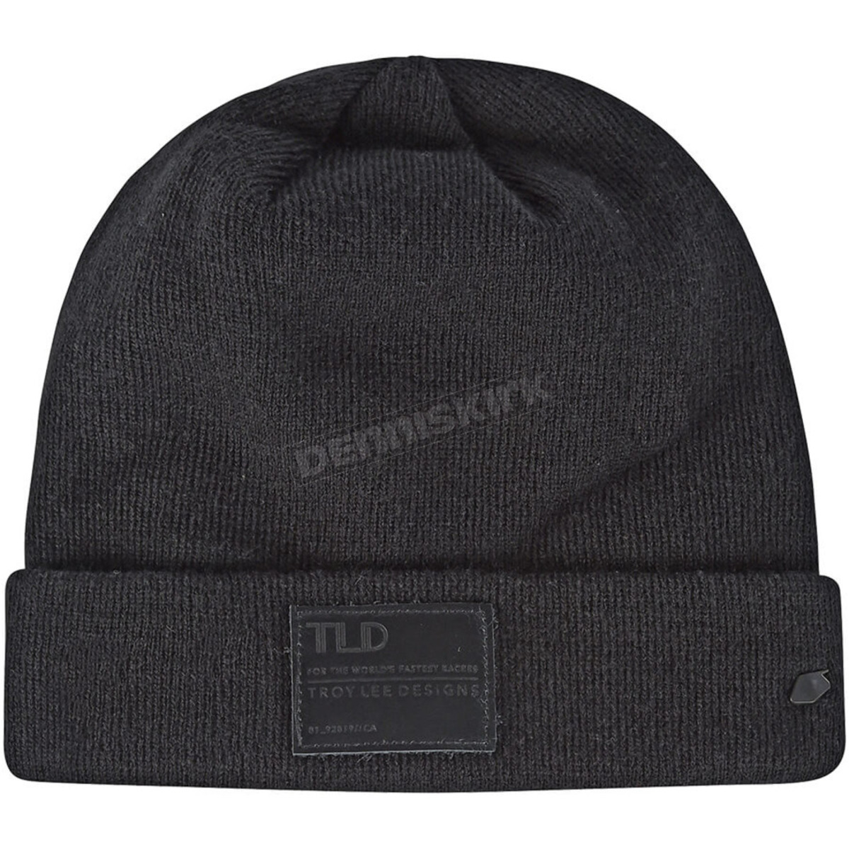 troy lee designs black stealth beanie 715437220 dirt bike snowmobile dennis kirk dennis kirk