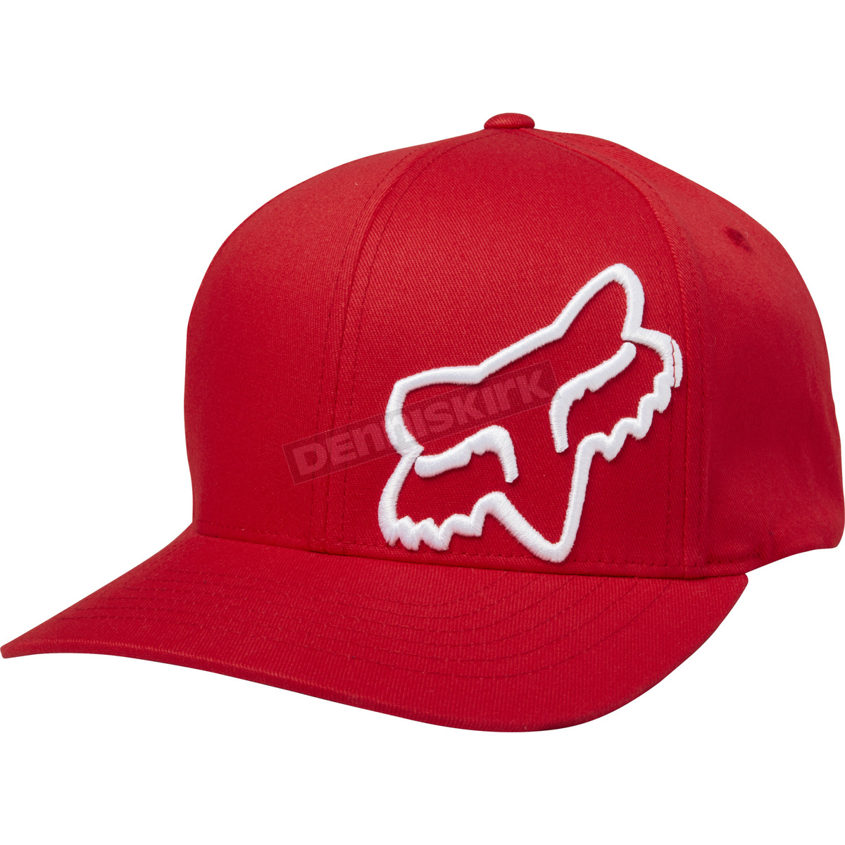 970285df4592a Fox Dark Red Flex 45 FlexFit Hat - 58379-208-S M Dirt Bike ...