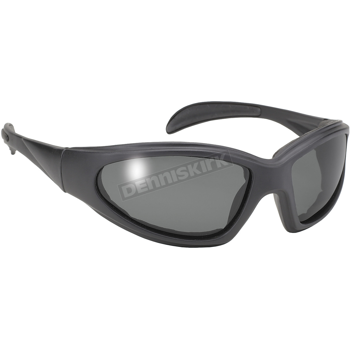 kickstart eyewear black chopper sunglasses w polarized