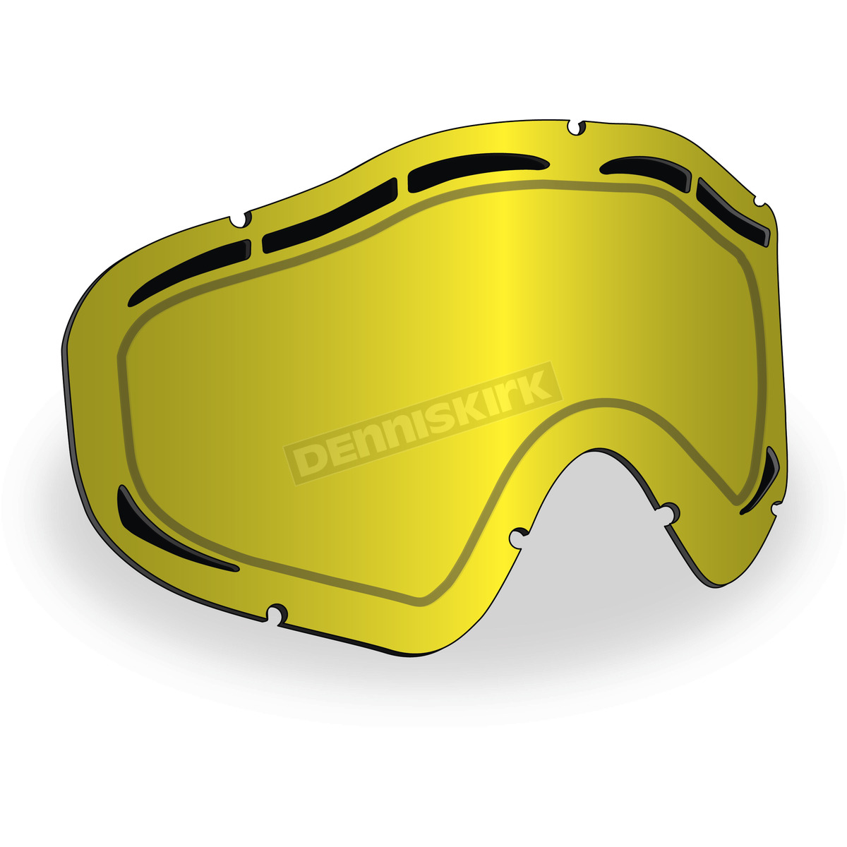 d47ce39e21 509 Polarized Yellow Maxvent Replacement Lens for Sinister X5 Goggles - 509 -X5LEN-15