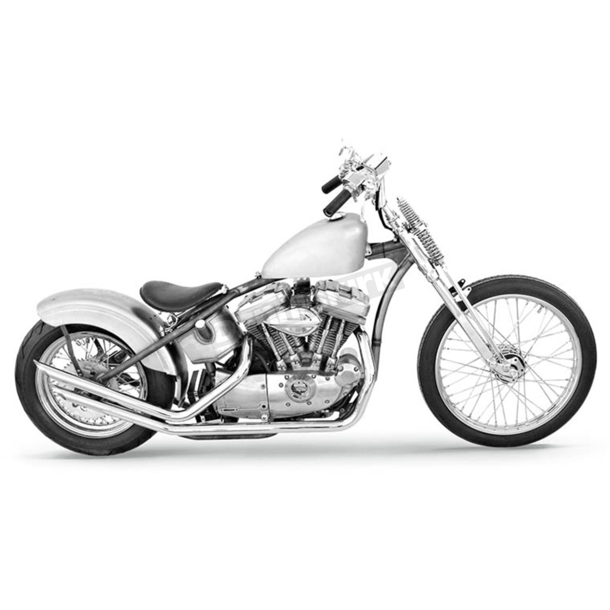 Paughco Single Loop Rigid Bobber Fork Frame - SLP120 Harley-Davidson ...