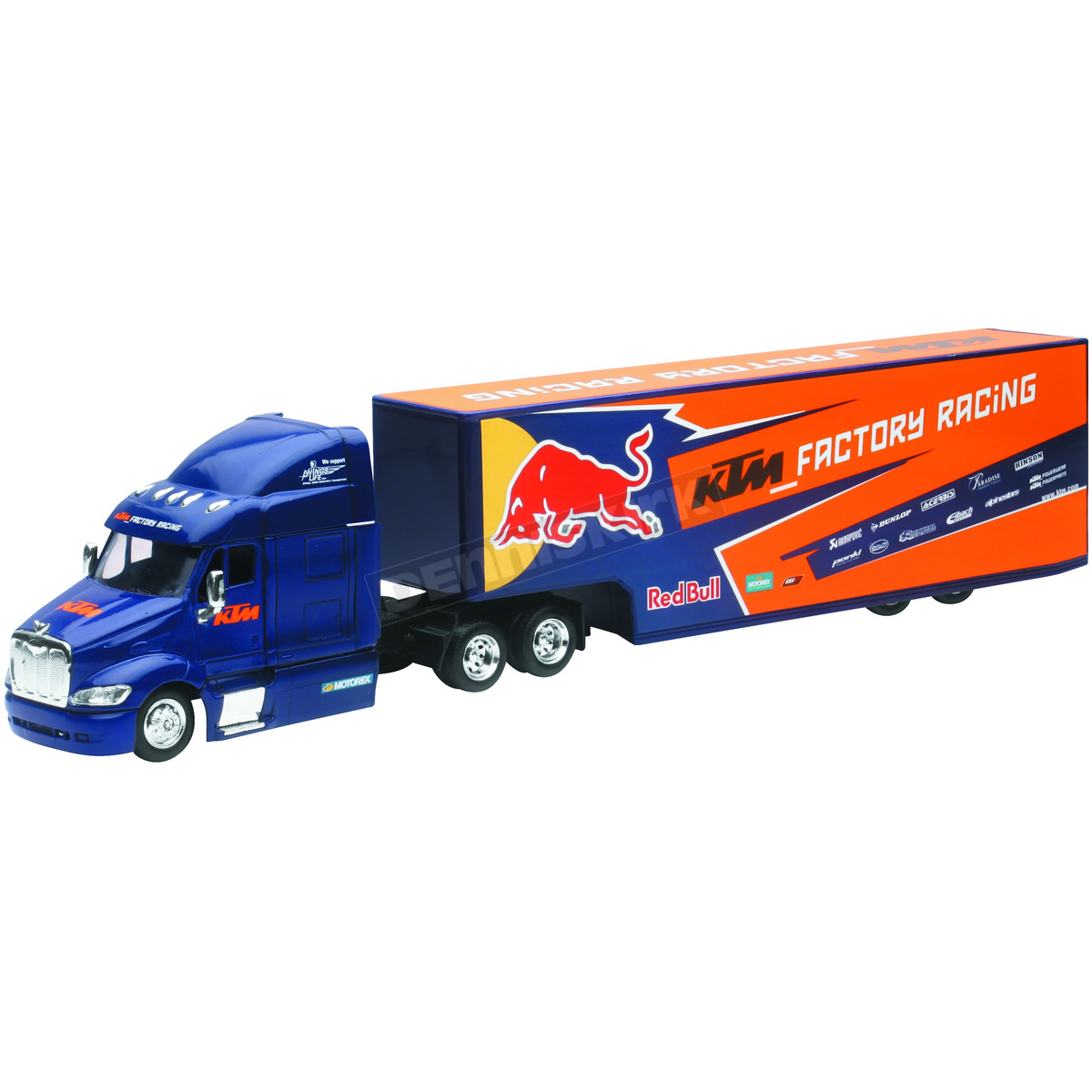 New Ray Toys Red Bull Ktm Transporter Truck 1 43 Scale Die Cast