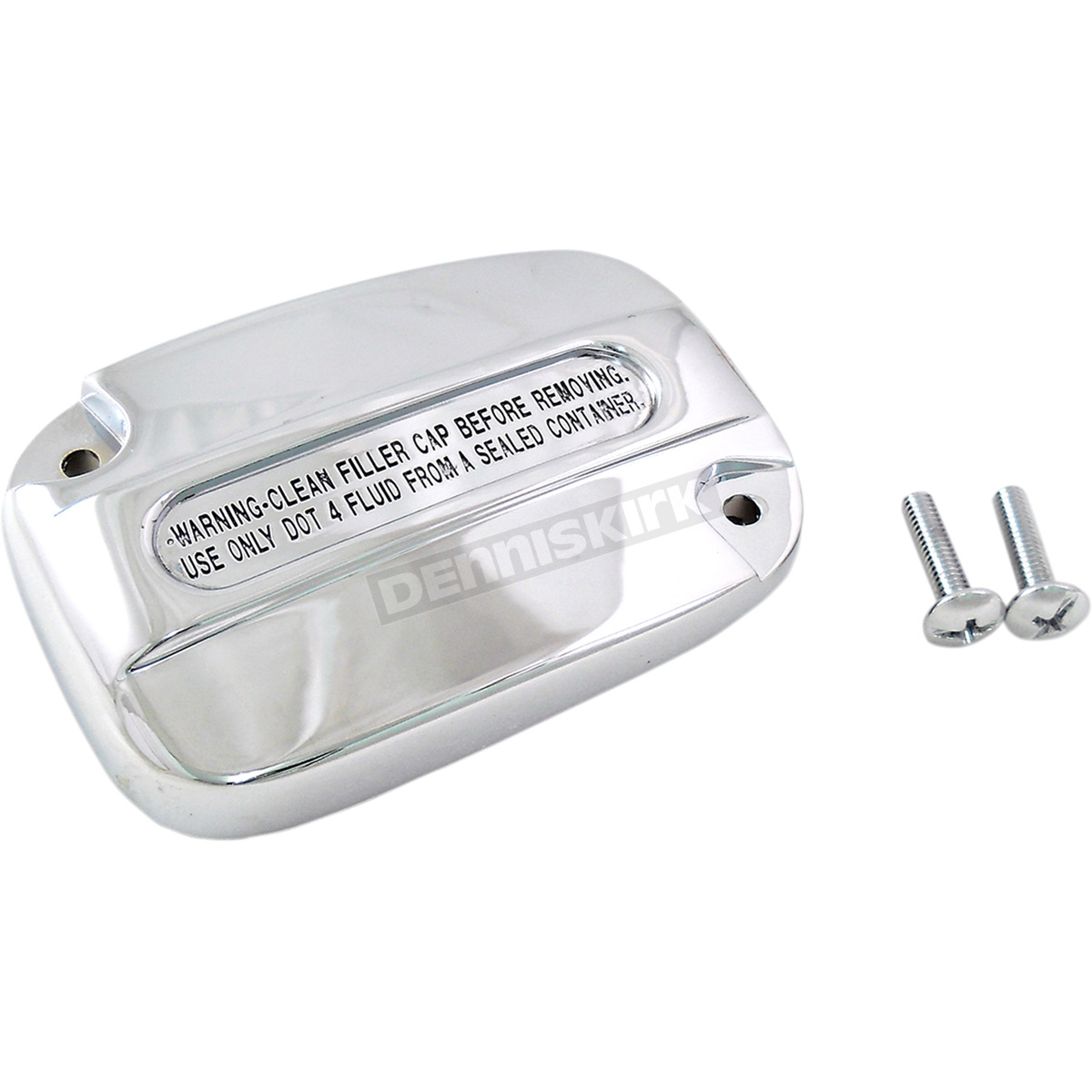Chrome Clutch Master Cylinder Cover - 0612-0424