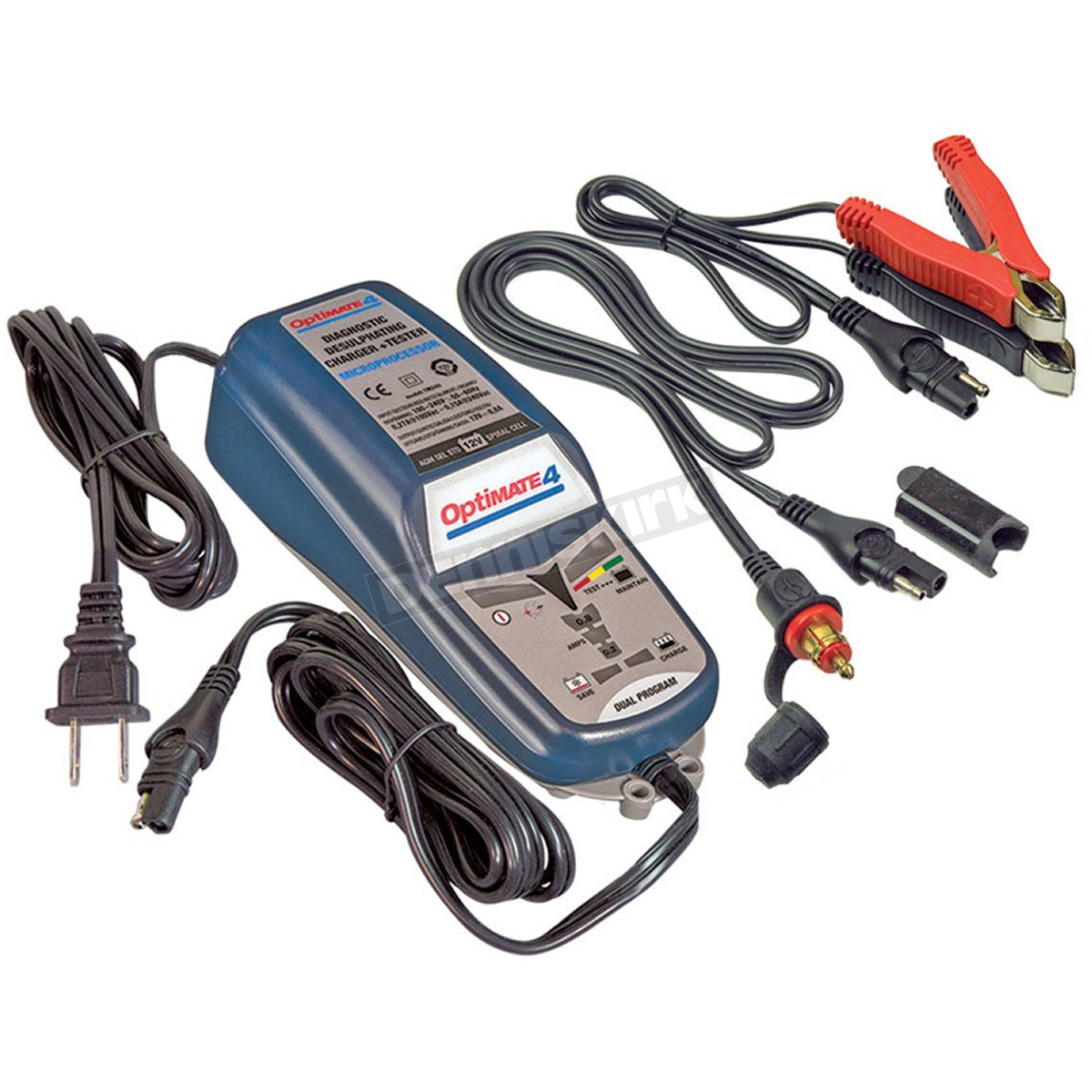 Optimate 4 Dual Program CAN-bus Edition Battery Charger for BMW - TM351