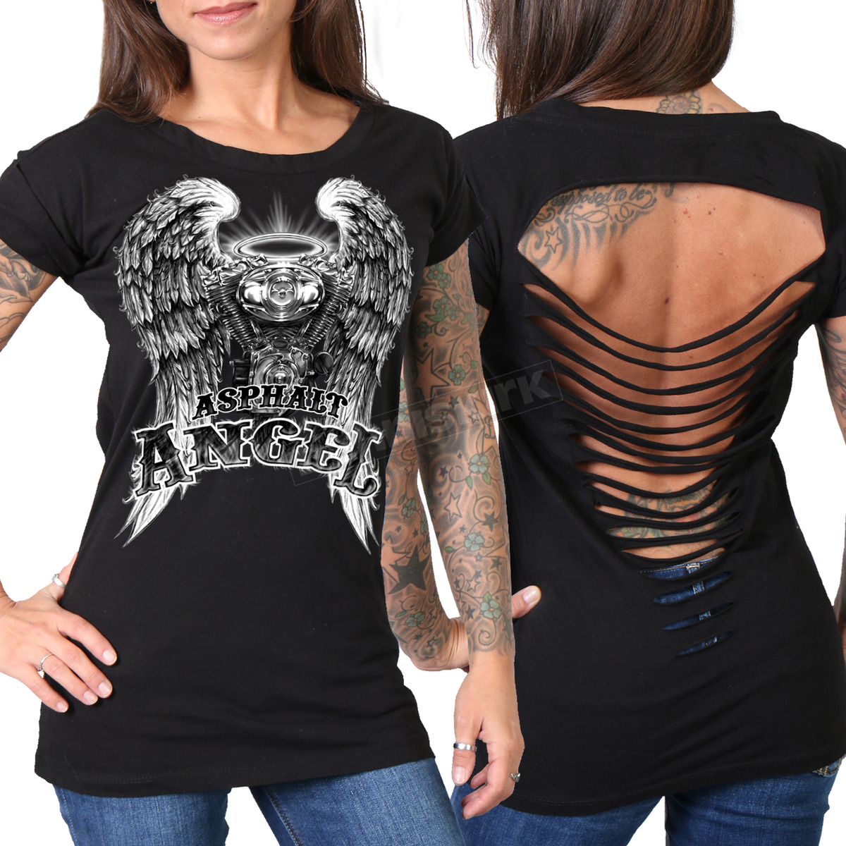 Sexy biker clothes for women