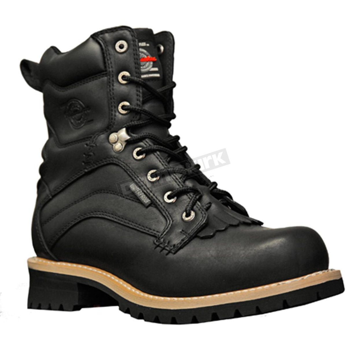 Milwaukee Motorcycle Clothing Co. Mens Drysdale Waterproof Boots ...