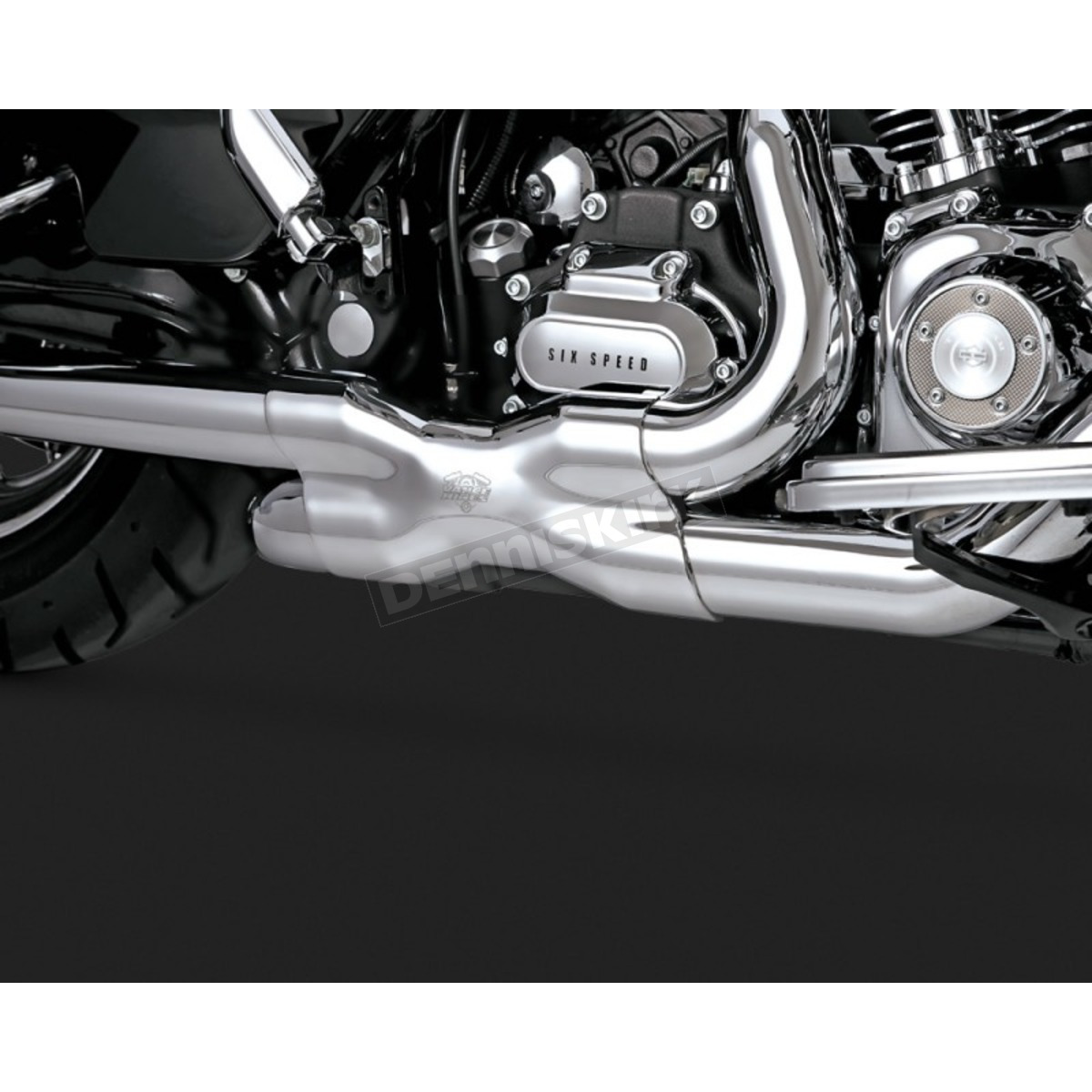 Chrome Power Duals Head Pipes - 16832