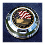 FCM 1.8  Fuel Cap Coin Mount With September 11th 2-Sided Coin - JMPC-FC-SEPT11