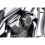 Chrome Plain Air Cleaner Kit  - 06-0267-03