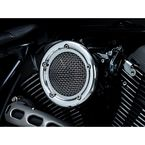 Chrome Velociraptor Air Cleaner - 9518