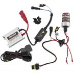 H.I.D. Headlight Kit w/White Bulb - 6000K-H7