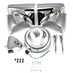 Chrome Headlamp Cowl Assembly - 24-0355