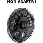 12V Black 7 in. Model 8790 NON-Adaptive LED Headlight - 0553421