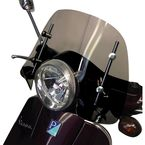 6 Inch Smoked Vespa LX, GT, GTS Windshield - 0700-1010