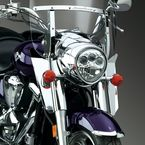 16 in. Chrome Switchblade Windshield Lowers - N76603