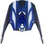Blue Multi FX-21 Visor - 0132-0772