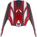 Red Multi FX-21 Visor - 0132-0773