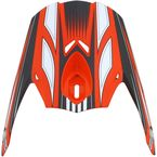 Orange Multi FX-21 Visor - 0132-0775