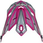 Youth Fuchsia Multi FX-17Y Visor - 0132-0794