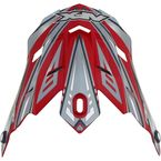 Youth Red Multi FX-17Y Visor - 0132-0797