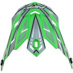 Youth Green Multi FX-17Y Visor - 0132-0799