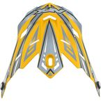 Youth Yellow Multi FX-17Y Visor - 0132-0800