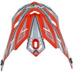 Youth Orange Multi FX-17Y Visor - 0132-0801