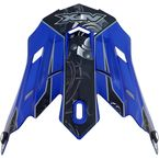 Blue Multi Gear FX-17 Visor - 0132-0816