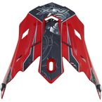 Red Multi Gear FX-17 Visor - 0132-0817