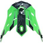 Green Multi Gear FX-17 Visor - 0132-0819