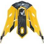 Yellow Multi Gear FX-17 Visor - 0132-0820