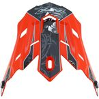Orange Multi Gear FX-17 Visor - 0132-0821