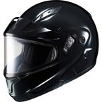 Black CL-MAX 2SN Modular Helmet w/Framed Dual Lens Shield - 59-14209X