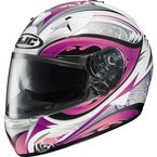 IS-16 White/Pink/Black Lash Helmet - 574-986