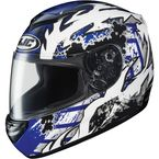 CS-R2 Blue/White/Black Skarr Helmet - 212-926