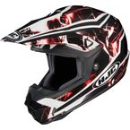 Black/Red/White Hydron CL-X6 Helmet - 728-916