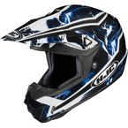 Black/Blue/White Hydron CL-X6 Helmet - 728-926