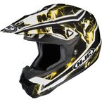 Black/Yellow/White Hydron CL-X6 Helmet - 728-936