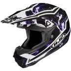 Black/Purple/White Hydron CL-X6 Helmet - 728-996