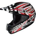Black/Red/White Charge CS-MX Helmet - 310-914