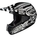 Black/Silver/White Charge CS-MX Helmet - 310-953
