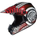 Youth Red/Black/White Wanted CL-XY Helmet - 274-913