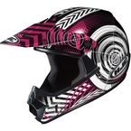 Youth Pink/Black/White Wanted CL-XY Helmet - 274-984