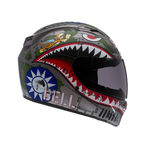 Vortex Flying Tiger Helmet - Convertible To Snow - 2028549